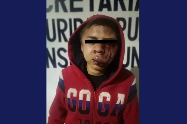 Asaltantes hieren a policía en Texmelucan y acusan agresión