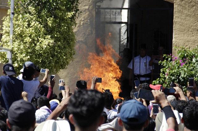 Sólo linchan 42 personas en 22 meses en Puebla, reporta la SGG