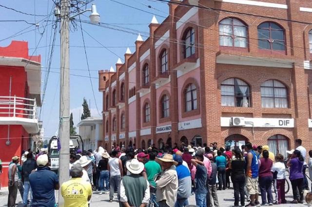 Culpan a Policía municipal por linchamiento de 4 en Yehualtepec