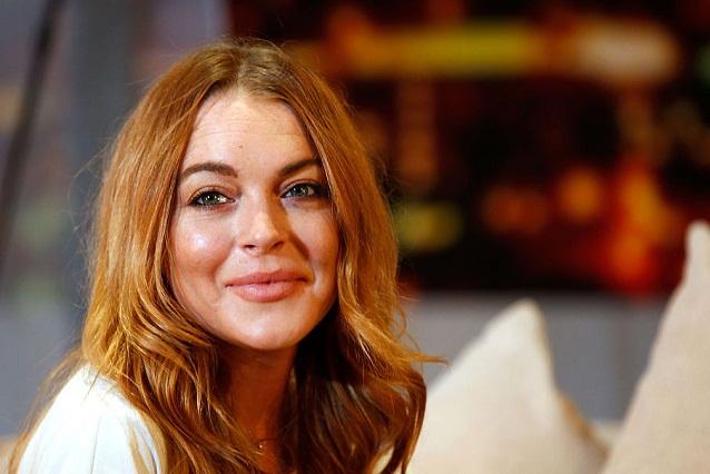 Lindsay Lohan visitó a refugiados sirios en Estambul