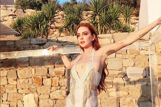 Lindsay Lohan tiene 32 años… pero en redes la ven de 60