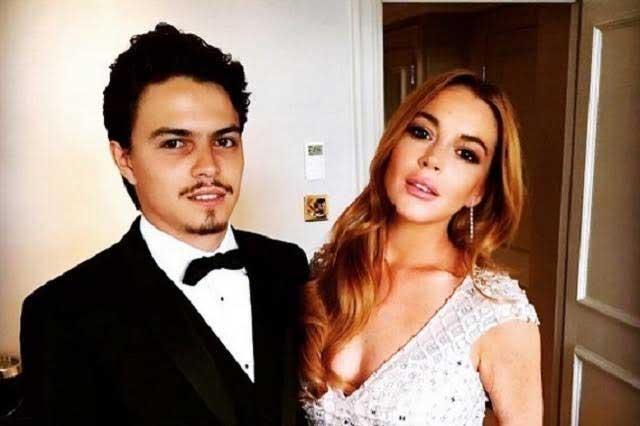 Difunden fotos de Lindsay Lohan y su novio peleando en Grecia
