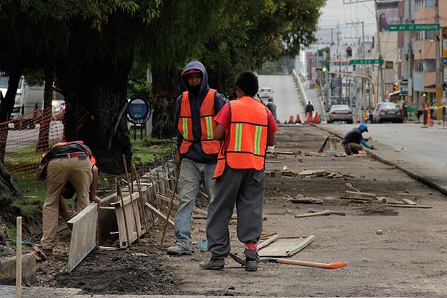 Perdió Puebla 5 empleos diarios en el sector de la construcción