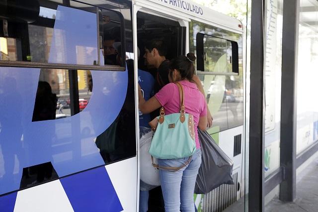 Analizan aumento a la tarifa del pasaje en el Metrobús de Puebla