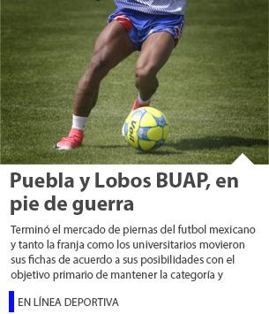 Puebla y Lobos BUAP, en pie de guerra