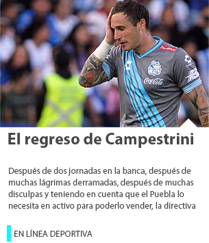 El regreso de Campestrini