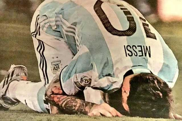 #NoTeVayasLio Argentinos piden a Messi que no abandone la selección