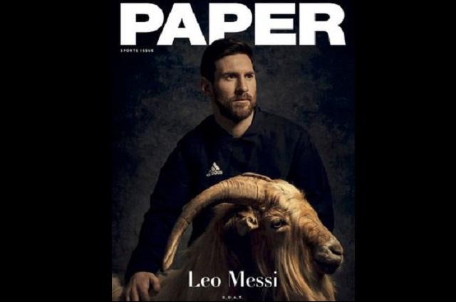 Si buscas en Twitter el hashtag Messi aparece la figura de una cabra