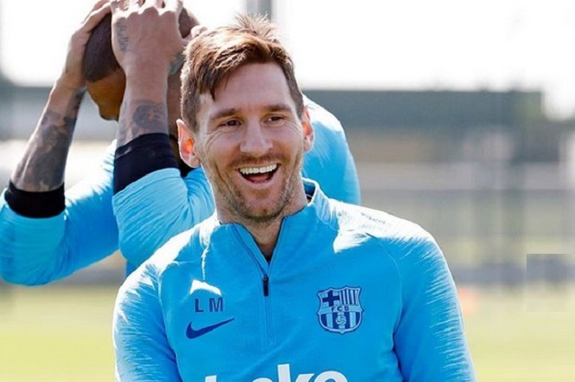 Leonel Messi cumple 32 años y luce grandioso