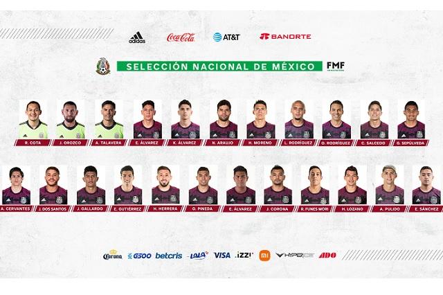 Oficial: los 23 convocados de México para disputar Copa Oro