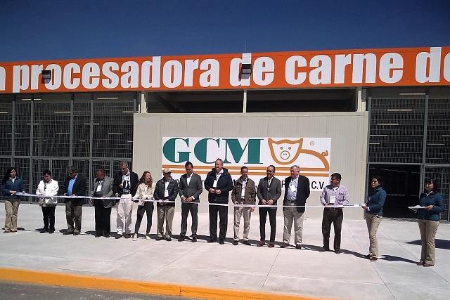 Granjas Carroll inaugura Planta Procesadora de Carne de Cerdo