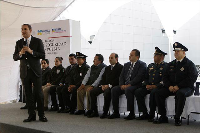 Llegan a Puebla 150 agentes de la Gendarmería Nacional