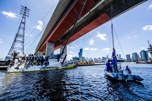 La Volvo Ocean Race...Ahora con rumbo norte y este