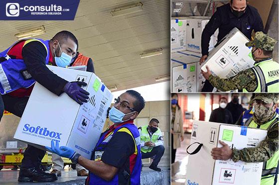 Llegan vacunas a Puebla; se aplicarán en 37 hospitales