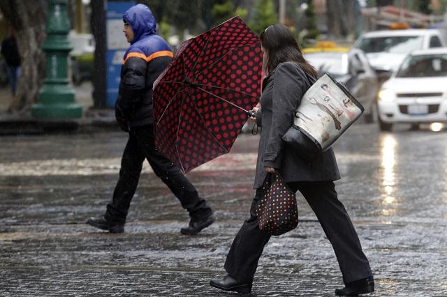 Pueden caer aguanieve, granizo y lluvia en Puebla, alerta el SMN