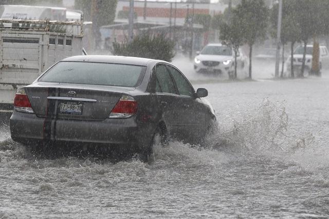 Seguirá lloviendo en el territorio poblano este día, informa el SMN