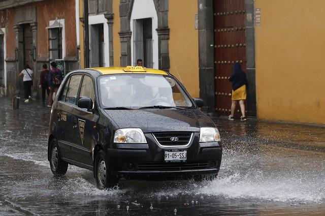 Videos y fotos: Puebla vive tarde de lluvia, viento y granizo
