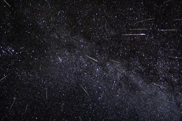Hoy son las Gemínidas, impresionante lluvia de estrellas