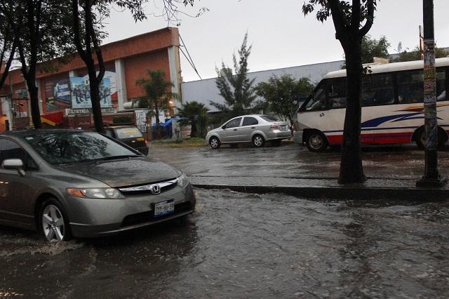 Cayó en Puebla lluvia atípica de 32.6 mm. y seguirá lloviendo