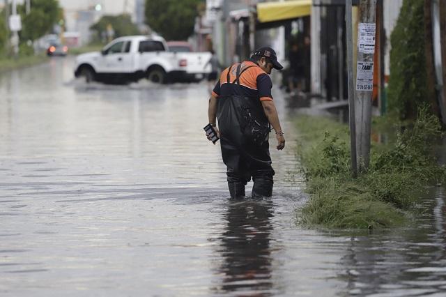 Lluvias, viento y tormenta eléctrica se prevén para Puebla