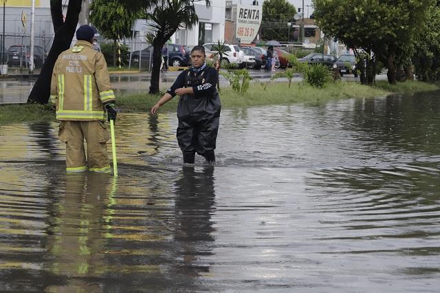 Lluvias pegan a treintena de municipios en Puebla