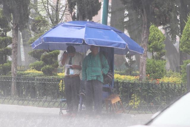Esperan lluvias intensas en sierras Norte y Nororiental del estado