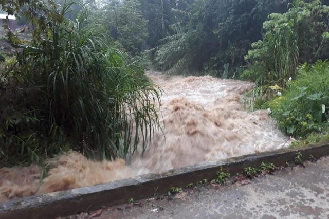 Lluvias causan daños en ocho municipios de Puebla: Segob