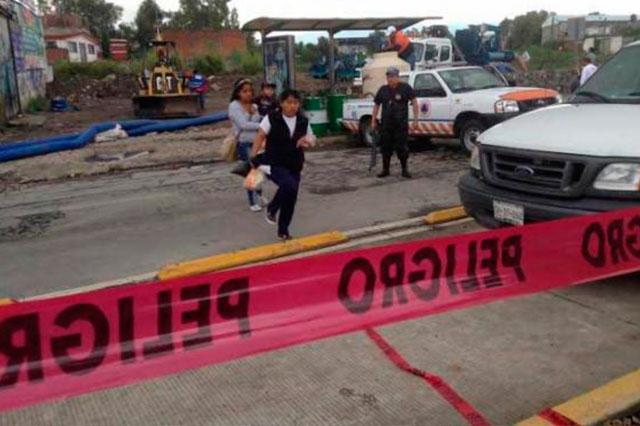Ante lluvias, suspenden clases en 25 municipios de Puebla
