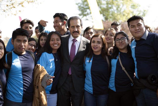 En Lobofest, más de 2 mil 500 nuevos estudiantes de la BUAP