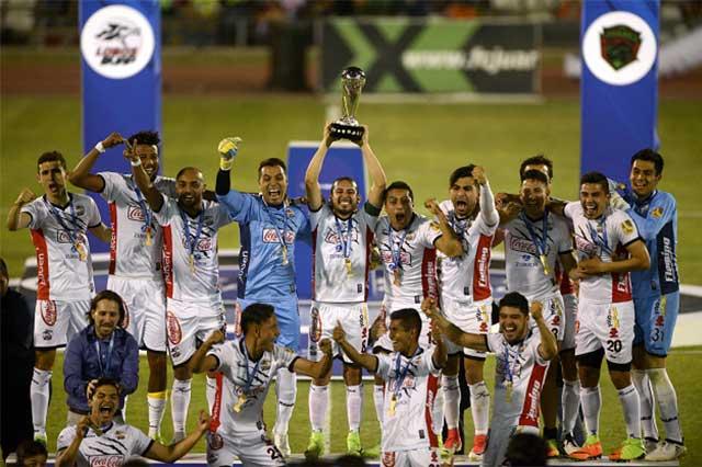 Lobos Buap es campeón del Ascenso y va por la Liga MX