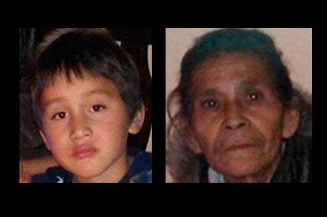 Encuentran a niño y abuela que estaban extraviados