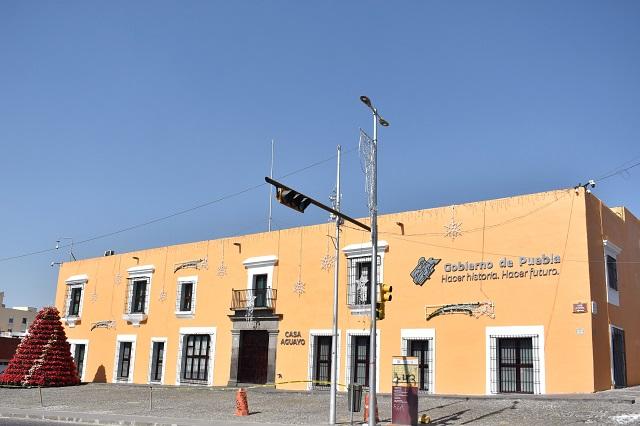 Despachará Barbosa en Casa Aguayo lo que resta de su gestión