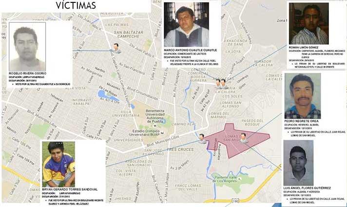 Descuartizaron y calcinaron a vecinos de Lomas de San Miguel