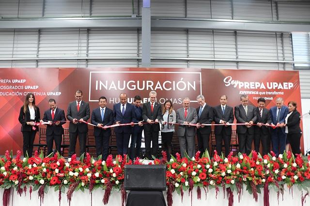 La UPAEP inaugura en Lomas de Angelópolis su 10ª preparatoria