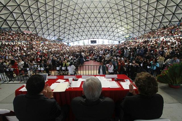 Crea Morena instituto de formación y reduce cuotas de legisladores