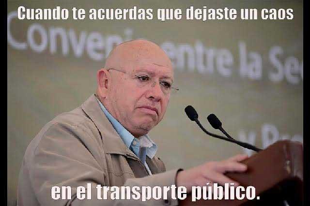 #LordTransporte Se burlan de aspiraciones políticas de Isidro Pastor