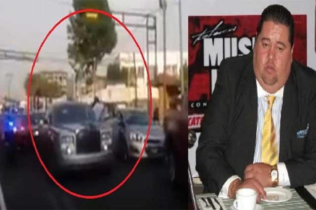 Agentes catean en Metepec la casa de #Lord Rolls Royce