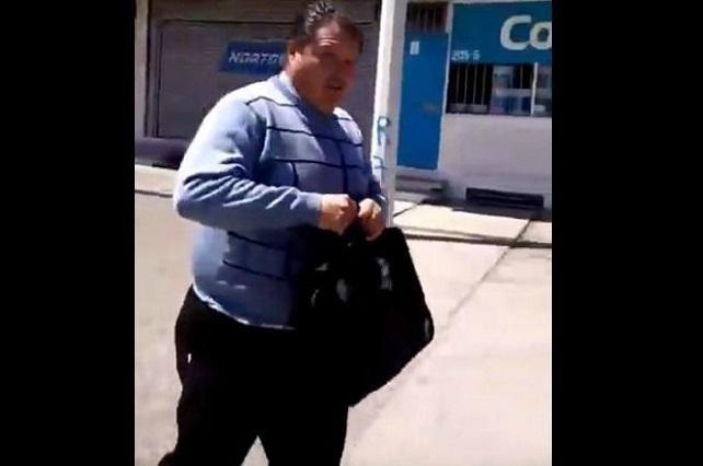 #LordNalgadas Mujer exhibe en video al sujeto que la tocó y amenazó