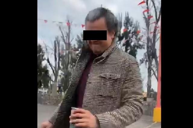 Lord Café: Identifican a hombre que agredió a mujer tras percance vial