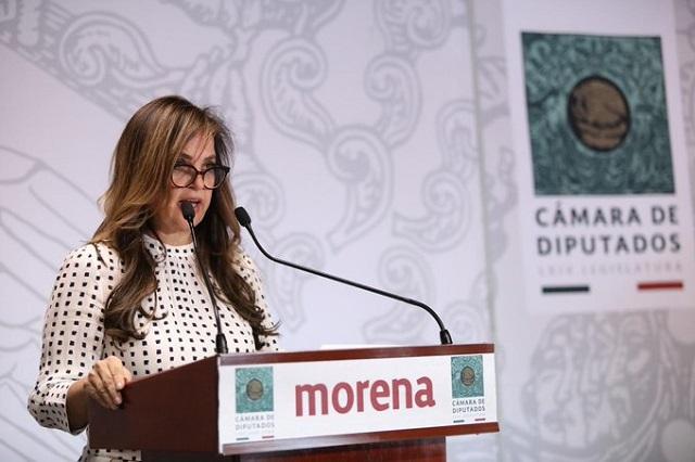 Diputada de Morena dice a AMLO que no existe el feminismo de derecha