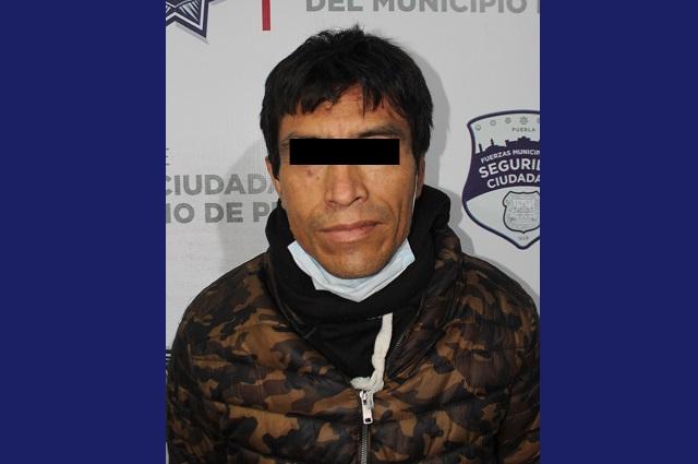 Multiasaltante de tiendas Oxxo fue detenido en Puebla capital