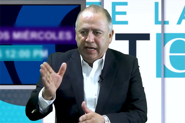 Un fracaso si el PRI queda en tercer lugar: Lorenzo Rivera