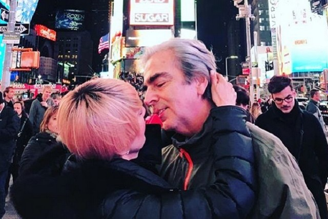 Lorenzo Lazo recuerda a Edith González con hermosa foto