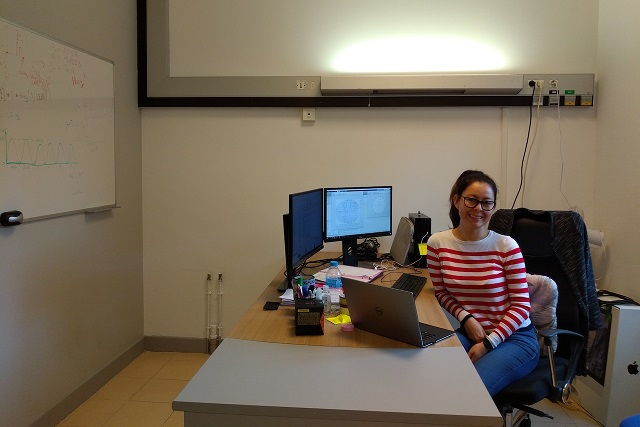 Egresada INAOE hace doctorado en neurociencias, en Francia