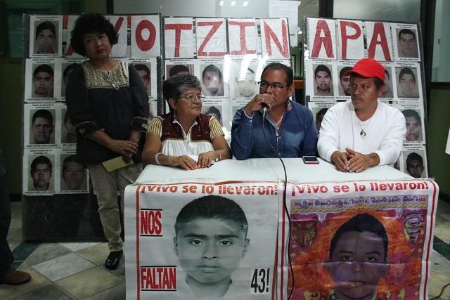 Esperan compromiso real de AMLO con padres de los 43 de Ayotzinapa