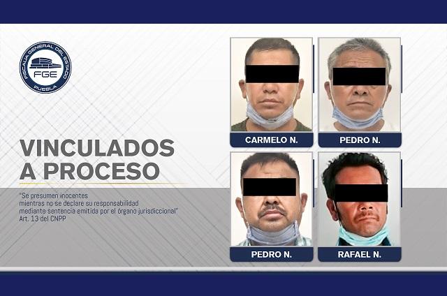 Encarcelan a 4 por doble linchamiento en Los Ángeles Tetela
