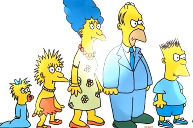 A 30 años de Los Simpson, así fue como inició su historia