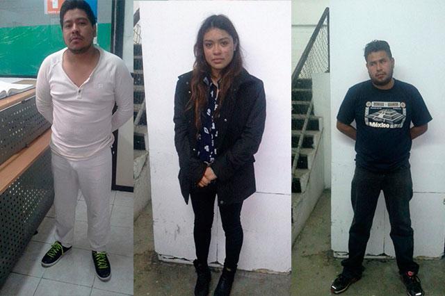 Logra SSP la detención de 5 acusados de robo