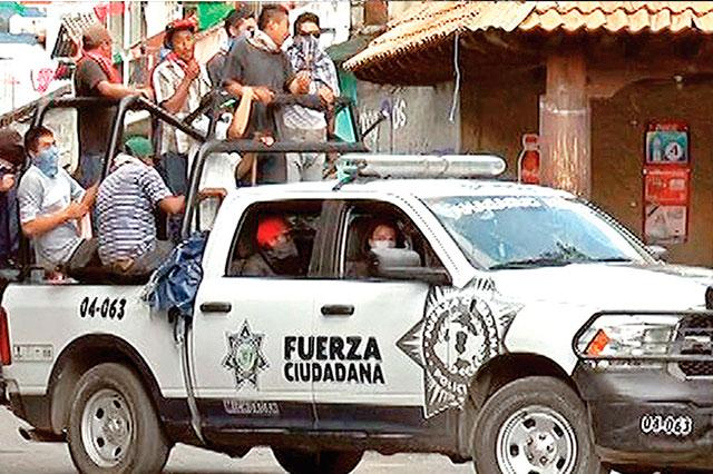 Ya se cumplieron 17 horas de bloqueos en Nahuatzen, Michoacán