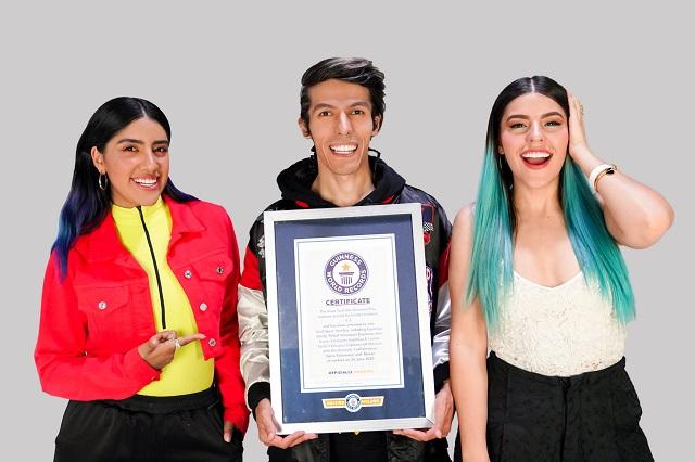 Dan Record Guinness a Los Polinesios por conquista en YouTube